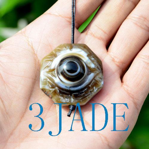 Mixed Tibetan Ritual DZI Heaven Eye Beads Powerful Energy Amulets Wholesale